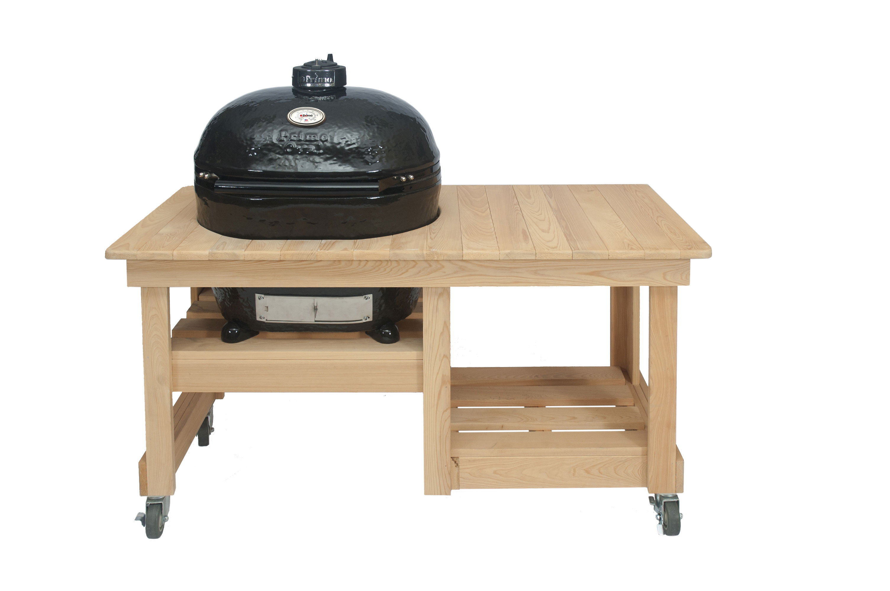 Perfect ... PRIMO OVAL XL   CYPRESS COUNTER TOP TABLE ...