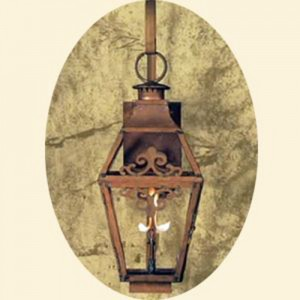 Copper Sculptures Lanterns